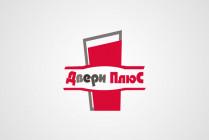 Логотип для Двери плюс
