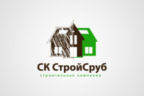 Логотип для СК СтройСруб